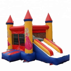 No Harm to Kids Inflatable Jumper Castle Slide kids outdoor playground