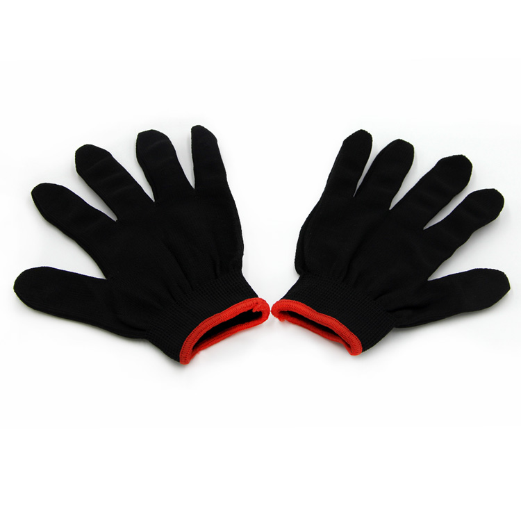 HOT !Cheap Wholesale Nylon Knitting Safety Work Gloves Saftey Gloves