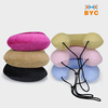 BYC Travel Neck Pillow With Removable And Washable Velvet Cover