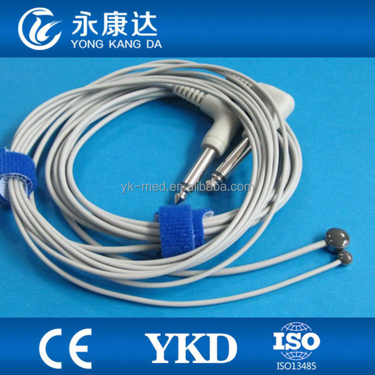 YSI 400 series Reusable pediatric skin surface medical temperature probe, 2.25k resistance