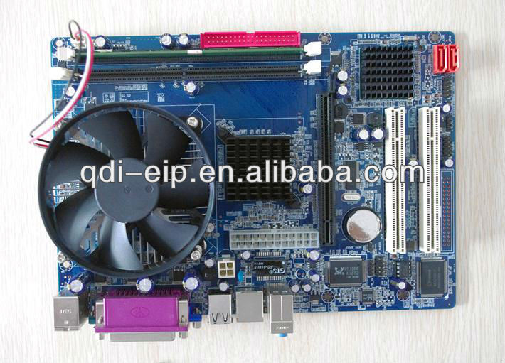 Onboard Intel Xeon CPU Motherboard With direct X9
