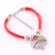 IMG 3575 Yiwu Huilin Jewelry thin red thread string rope beads Class Of 2017 Charm Bracelets for women valentine's day gift