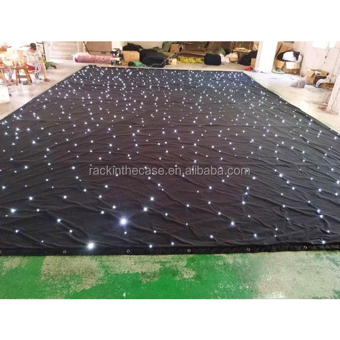 RK black light led curtain/portatile sfondo/matrimonio mandap decorazioni