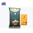 Crispy Thin Cracker Durian Coconut Black Rice Biscuit