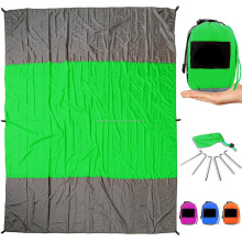 Sand Escape Compact Outdoor Beach Blanket / Picnic Blanket High quality Beach Mat