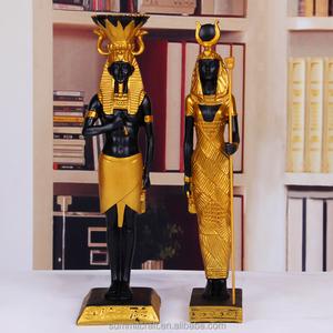 Wholesale Custom resin egyptian statues