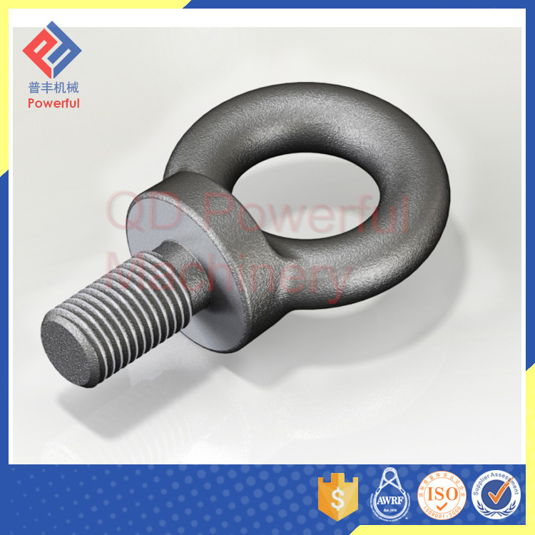 High Quality Drop Forged DIN580 Lifting Eye Bolt m4