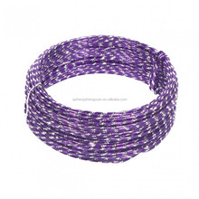 HSY 2MM Aluminum Semi--diamond Colored Wire for decoration