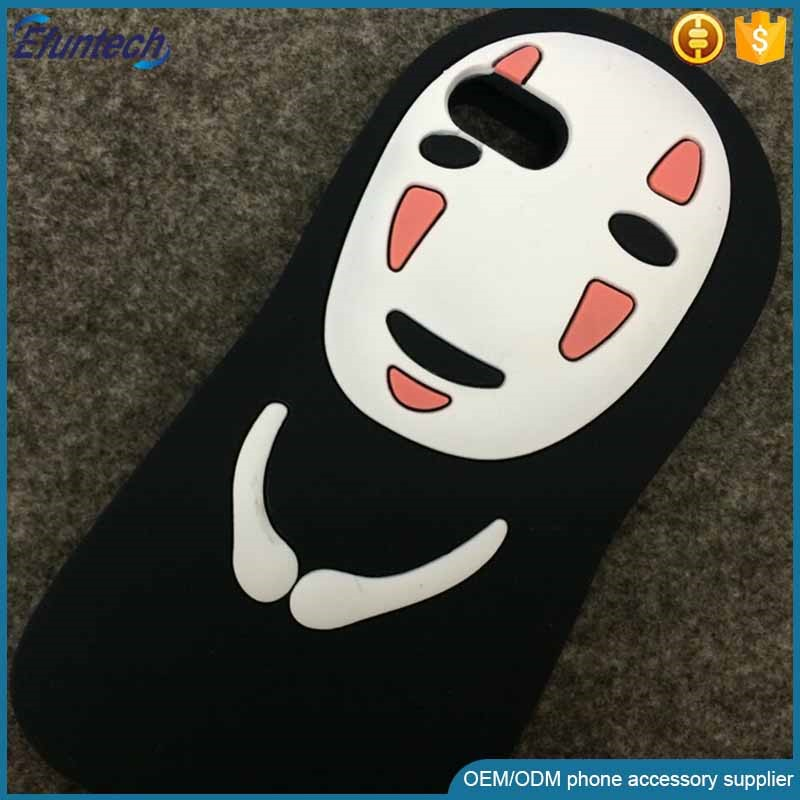 Low price phone accessory Halloween gift cartoon ghost soft silicone phone case for iphone 6s