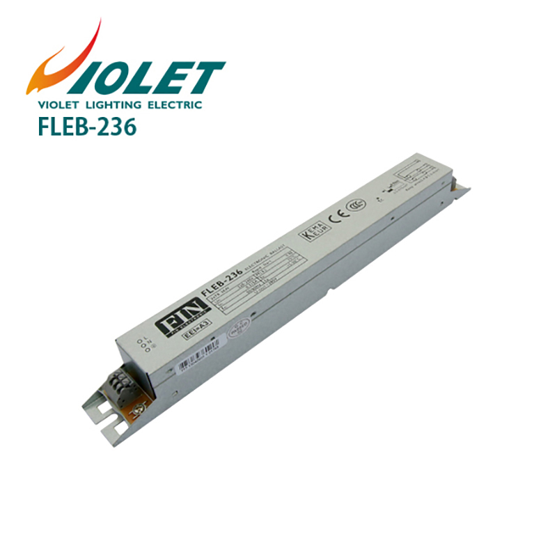 Electronic Ballast For T8 Fluorescent Lamp Tube 2x36W