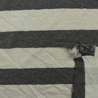 WANGT TCR high quality yarn dyed jacquard engineering stripe knit jersey fabric for T-Shirt