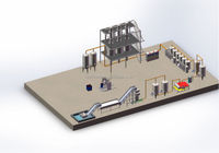 aseptic juice processing line for vegetables and fruits