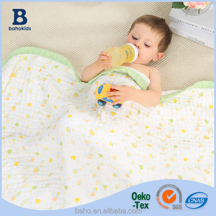 Baho kids 2017 New Arrival Healthy Soft Jersey Cotton Baby Quilt