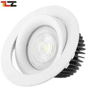 high quality COB 12w color temperature adjustable led downlight