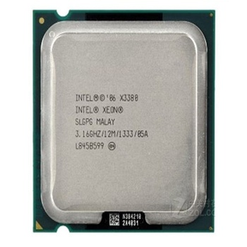 Intel Xeon cpu processor X3380 3.16GHz 12MB 775LGA