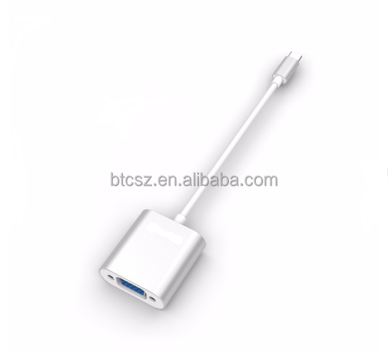 New product USB 3.1 type c to VGA adapter converter hub for Android laptop