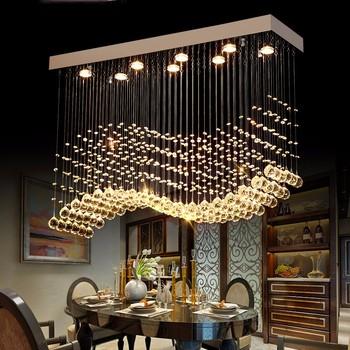 Crystal wave rain drop chandelier led lighting source lustre 92014 crystal wave rain drop chandelier led lighting source lustre 92014 aloadofball Images