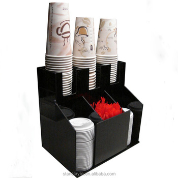 Acrylic Sugar Cup Tea Cup Display Stand HolderCoffee Cup And Lid Impressive Coffee Cup Display Stands