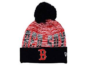 69a8e258c63 Buy New Era Boston Red Sox Knit Cuff Beanie w  Pom Hat One Size Fits ...