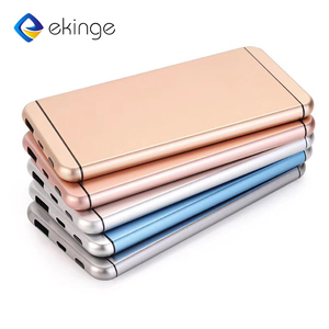 Customize New Version ultra-thin slim Credit Card mi luxury power bank