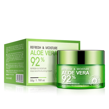 Super  Moisturizing Aloe Vera Cream with 92% Aloe Extract for Face Skin Care for Wholesale and OEM