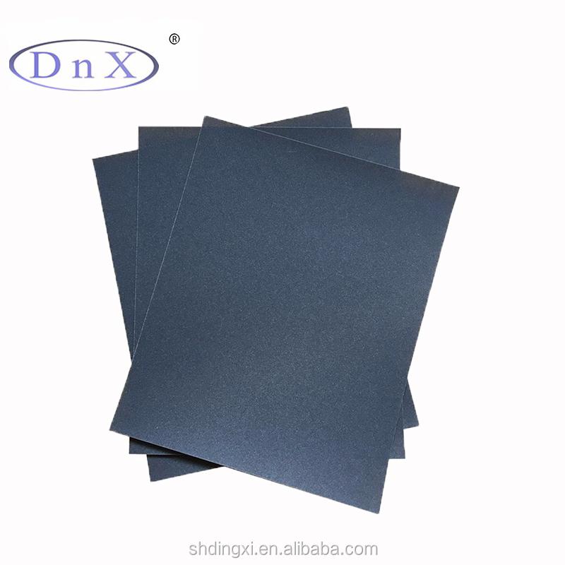 "निविड़ अंधकार रेत कागज 600 धैर्य 9 ""x 11"" सिलिकॉन कार्बाइड sandpaper शीट"