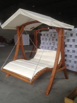 Swing Bench Garden Wooden Chair