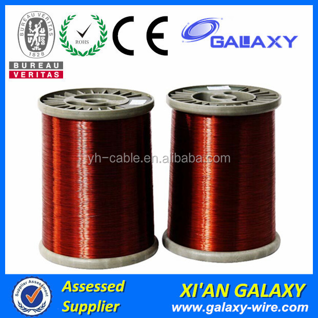thermal class 130 155 pew enamelled copper wire2uew 180c enamelled copper wire