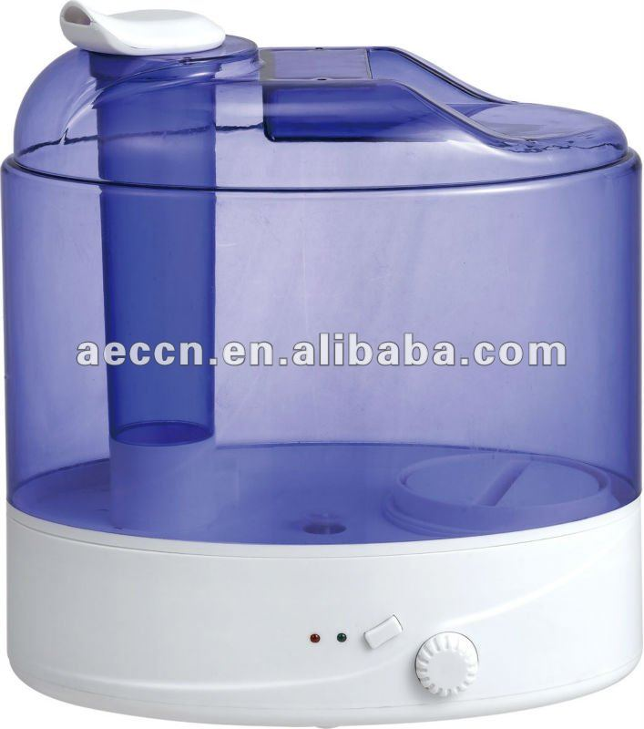 2014 Ultrasonic humidifier CE big capacity 8.8 Litre blue color