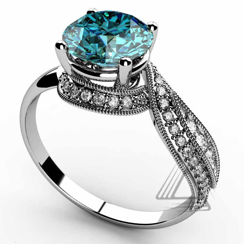 unique swiss blue topaz gemstone wedding rings for women buy unique wedding ringsblue topaz gemstone ringsdiamond and gold ring product on alibabacom - Gemstone Wedding Rings
