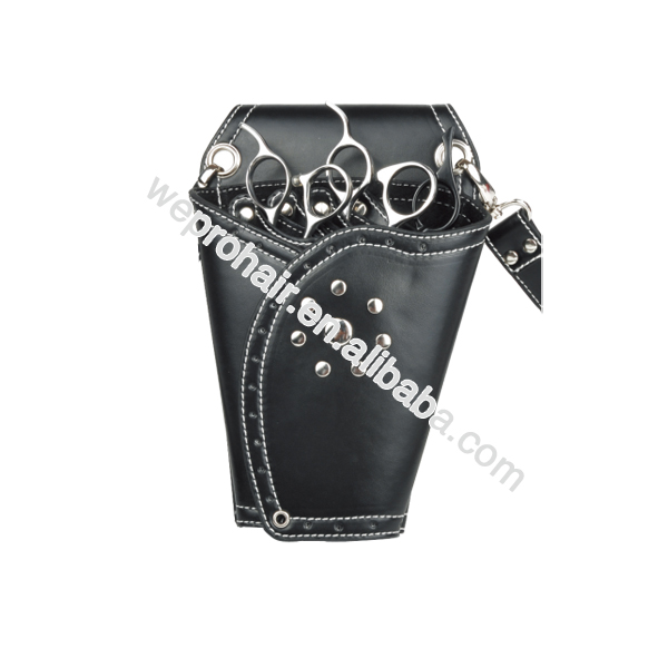 Professional Wholesale Leather Tools Waist Pouches, Hairdressing Waist Scissors Holders Pouches