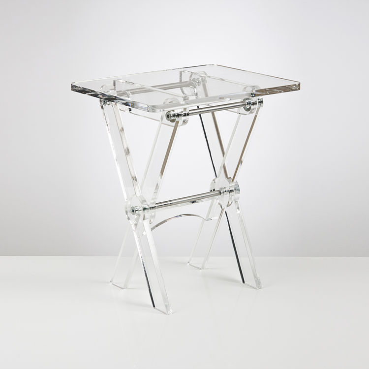 Clear Acrylic Tv Tray Or Folding Coffee Table Buy