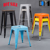 alibaba china supplier custom colorful metal bar stool for kids