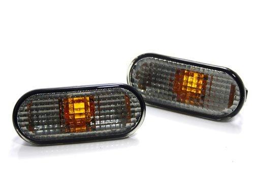 General Mega Front//Rear Bumper Side Marker Lights Turn Signal Lamp Left /& Right for 2001-2005 VW Passat B5.5