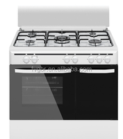 cocina de gas natural 900mm Cooking Range Kitchen Appliance with double oven