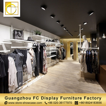 High Quality Custom Clothing Shop Interior Design,Cloth Shop Counter Table  Design Garment Shop Decoration Furniture - Buy Garment Shop Decoration ...