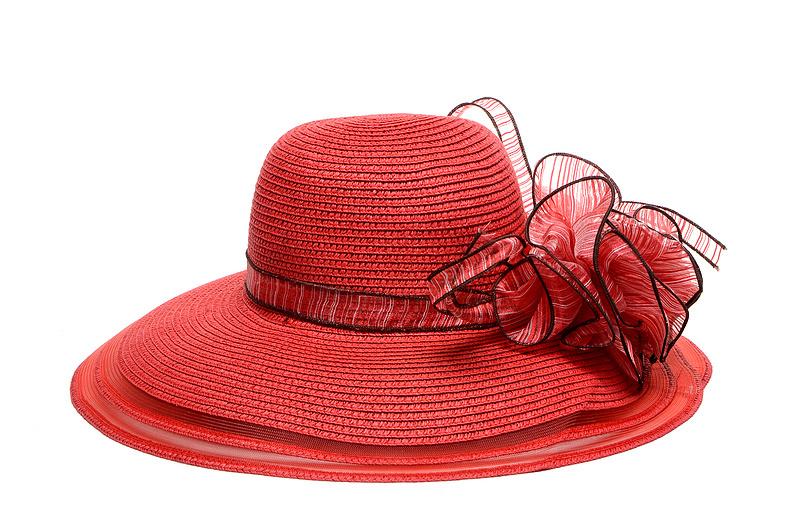 d258c30a Buy Kentucky Derby Wedding Church Party summer beach sun hats flower sun  hats, paper straw,women summer hats red in Cheap Price on m.alibaba.com