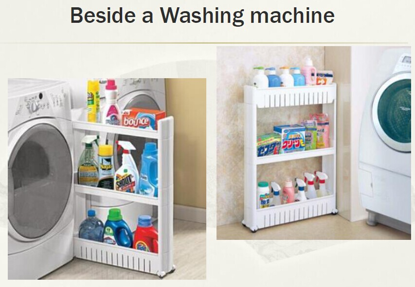 Collapsible Wall Hanger Laundry Room Organizer Mounted Expandable Cloth