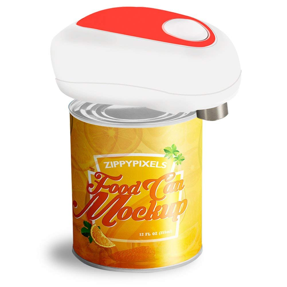 Electric Can Opener with Smooth Edges for Seniors, White Kitchen Aid (Latest)