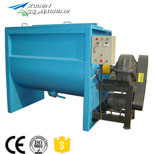 high speed PVC/WPC powder/granules horizontal plastic mixer