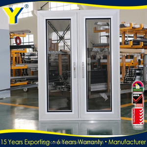 Customized windows and doors hat selling in U.S./aluminium casement window/french window