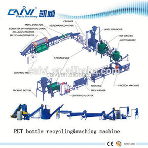 plastic recycling machine sale for PET washing Pet Bottle flakes washing machine