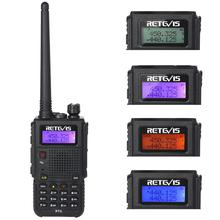 Retevis RT5 136-174 + 400-520M Hz 7W 128 Channel Dual Band UHF VHF Dua Arah <span class=keywords><strong>radio</strong></span>