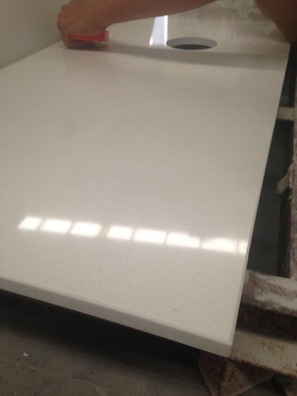 Bathroom White Engineered Stone Cultured Marble Vanity Tops Buy White Vanity Tops White