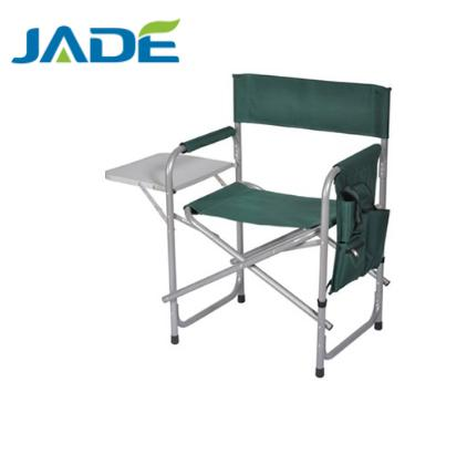Folding Aluminum Director chair with tea table and sidebag high quality director's chair wholesale