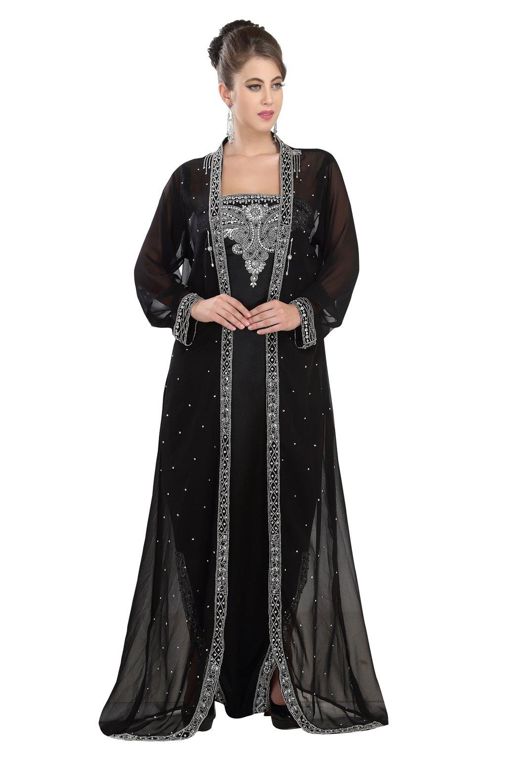 a1494d4cfa Get Quotations · Modern Stylish Party Wear Moroccan Kaftan Dress Unique  Design By Maxim Creation 5528
