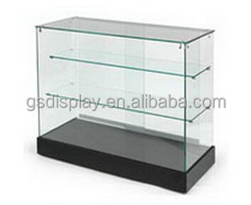 Retail Glazen Vitrinekast Met Led Verlichting - Buy Glazen ...