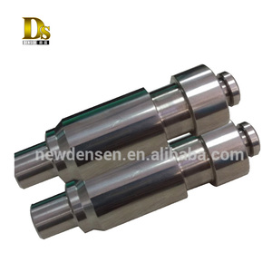 Custom Production Metal Stainless Steel Forging pump shaft