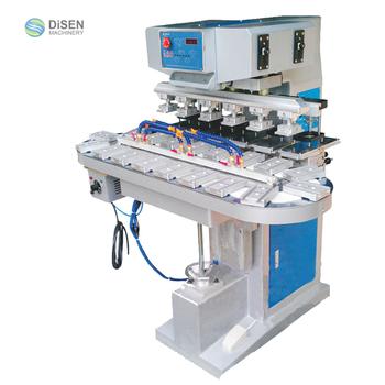 6 Color Pad Printing Machine With Conveyor - Buy 6 Color Pad Printing  Machine,Pad Printer,Roller Pad Printing Machine Product on Alibaba com