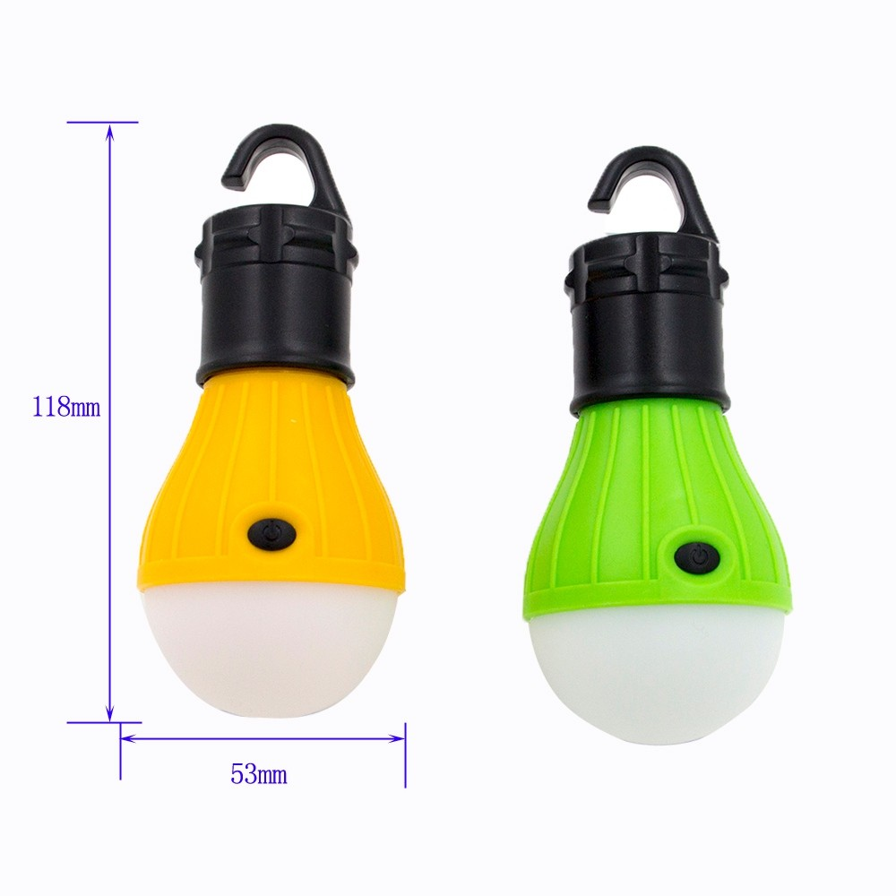 LED Lantern For Camping Lights Night Fishing Emergency Tent Bulb Portable Battery Powered